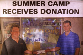 Donation -  Welland Summer Camp
